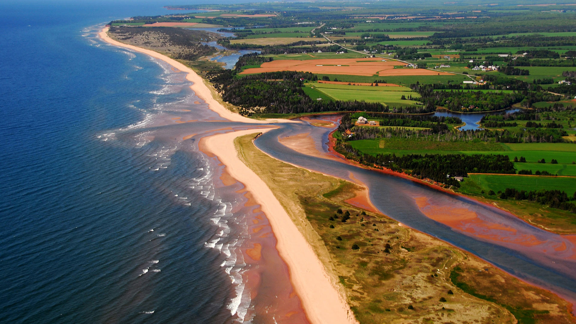 PEI Coastline, South Lake