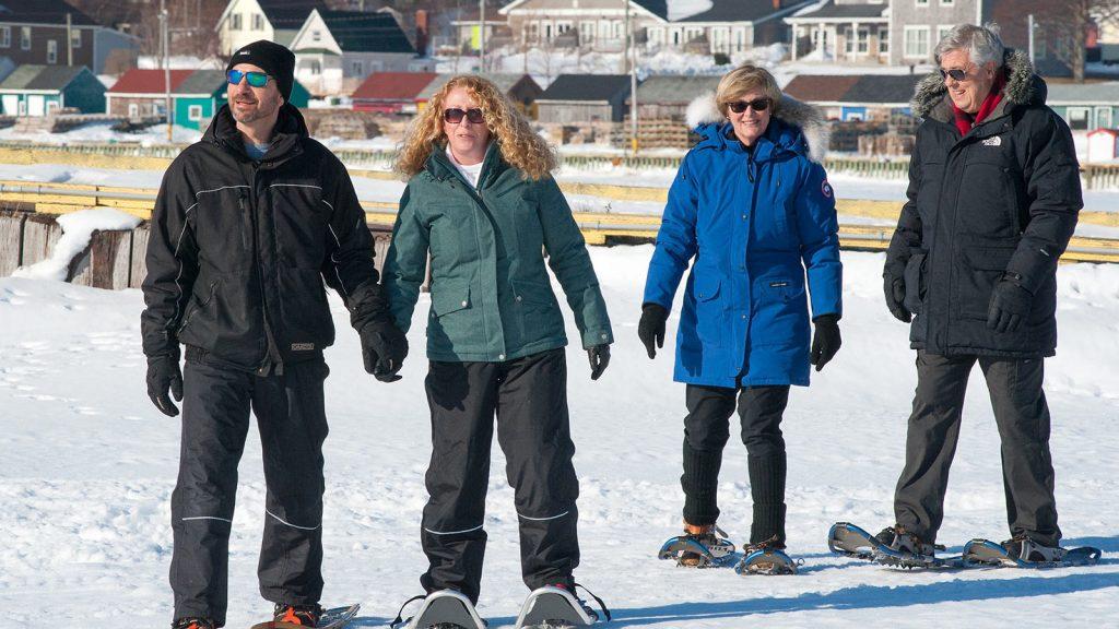 Snowshoeing Fun